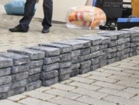 Detenidos seis narcos e incautados 100 kilos de cocaína