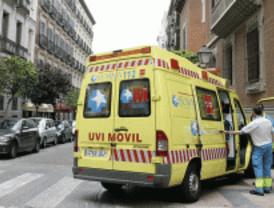 Muere un motorista al chocar con un coche en la M-404