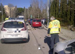 Fallece un ciclista al ser atropellado por un coche en la calle Arboleda
