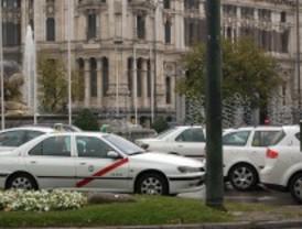 Los taxis podrán circular por algunos carriles bus