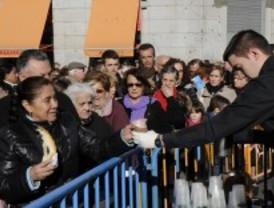Roscón solidario en la Puerta del Sol