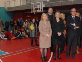 Valdemoro estrena el polideportivo Juan Antonio Samaranch