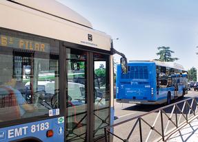 La EMT pone un servicio especial de autobuses por el corte de tramo de la línea 9 este domingo