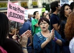 Cientos de personas marchan por Madrid contra la corrupción política