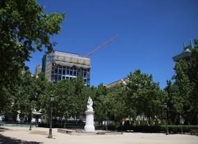 La Audiencia Nacional ocupará la mitad del aparcamiento de la plaza de París