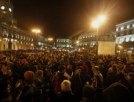 Se solidarizan en Sol con los detenidos en la marcha contra la reforma laboral