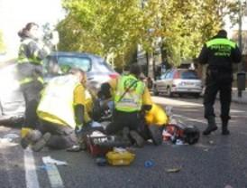 Fallece un motorista en Chamartín