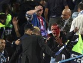 La UEFA cierra el Calderón por dos partidos