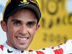 Contador, segundo en la primera contrarreloj del Tour