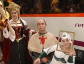 Vuelve el Tren Medieval a Sigüenza