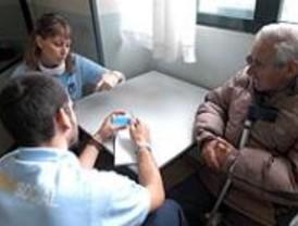 La nueva sede del SAMUR Social dispone de una sala para afrontar situaciones de crisis