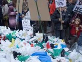 Cientos de personas para concienciar del cambio climático