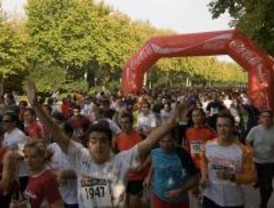 Madrid vivió un domingo 'a la carrera'