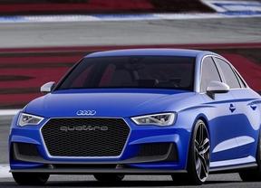 Audi A3 Clubsport Quattro Concept, 525 caballos de tracción total