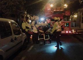 Muere un hombre en el incendio de una vivienda en Puente de Vallecas