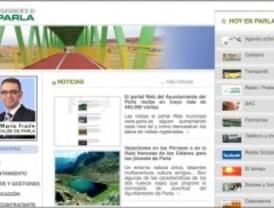 La página web del Ayuntamiento de Parla recibe en mayo más de 445.000 visitas