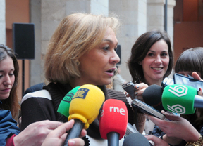 La consejera Isabel Mariño