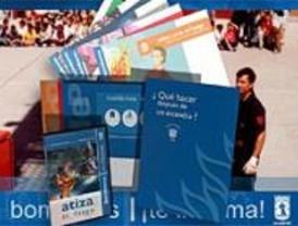 Carteles y folletos para luchar contra el fuego