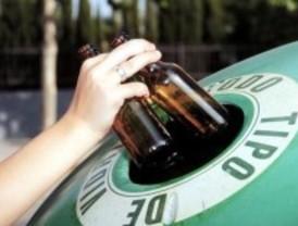 Leganés recicla 27.000 kilos de vidrio y 6.300 kilos de pilas en el primer semestre del año