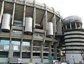 Fuerte despliegue policial en el Bernabéu por el partido Real Madrid-Atlético