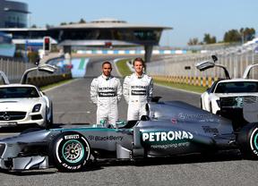 Los nuevos Mercedes rodaran en Jerez los primeros días de febrero