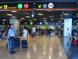 Cancelados más de 40 vuelos con el norte de Europa
