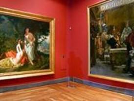 Los visitantes hacen cola en el Prado para disfrutar de la ampliación