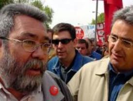 Cándido Méndez dice que la gente no cree a Aguirre en materia sanitaria