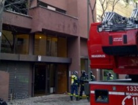Arden unas oficinas en San Blas