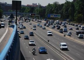 La DGT espera cinco millones de desplazamientos en el puente de San José