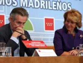 Aguirre y Blesa escenifican su 'buena' relación
