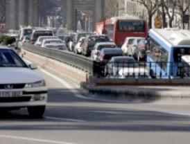 Una incidencia corta un carril de la Calle 30