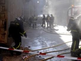 Incendio en el edificio del teatro Albéniz