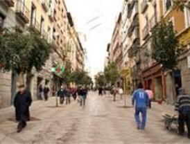 La peatonalización de Montera y Arenal alivia a Sol de las obras