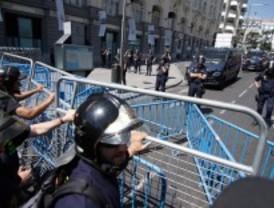 Los funcionarios protagonizan nuevos cortes de calles