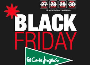 Cartel promocional de Black Friday