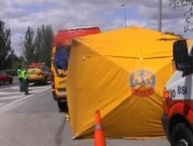 Fallece una mujer de 81 años en un accidente de tráfico en la M-607