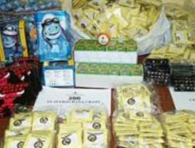 Detenido en Lavapiés un chino con más de 7.000 objetos falsos para venderlos