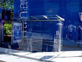 La EMT instala 300 pantallas de información