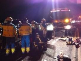 Fallece un taxista en una colisión múltiple en Torrejón de la Calzada