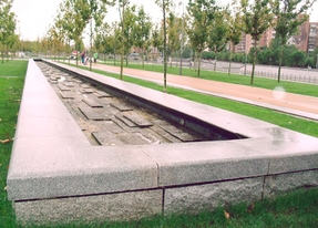 Fuente de Madrid Río