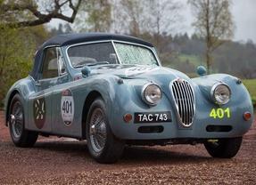 Los mejores Jaguar de la historia presentes en la Mille Miglia