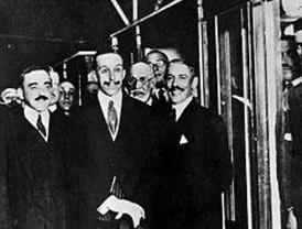 El metro que inauguró Alfonso XIII en 1919