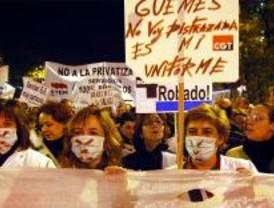 Otra manifestación en defensa de la sanidad pública 'toma' el centro de Madrid