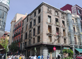 La 'ruina' de la calle de Los Milaneses