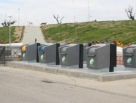 Los contenedores soterrados comienzan a funcionar en Parla