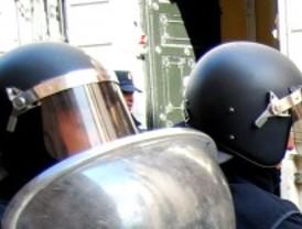Cascos militares para la Policía Municipal
