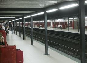 Muere arrollado por un tren de cercanías en Recoletos