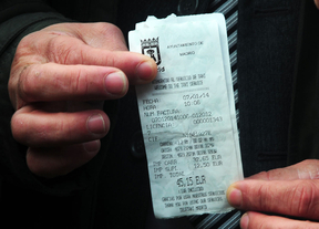 Rifirrafe entre taxistas por la tarifa fija al aeropuerto