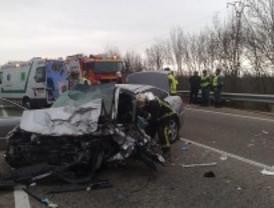 Una mujer fallecida en un accidente en Soto del Real, cuarta víctima del tráfico en el fin de semana